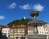 Ljubljana, capital of Slovenia — Stock Photo