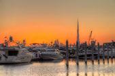 Port in Dubai — Stock Photo