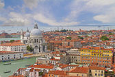 Venice from the top of the Campanile, Italy — Stock Photo