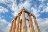świątynia posejdona w soúnion z aten — Zdjęcie stockowe