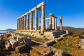 Poseidon Temple at Cape Sounion near Athens, Greece — Stock Photo
