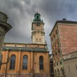 Storkyrkan cathedral,the Great Church, Stockholm,Sweden — Stock Photo #13339828