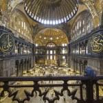 Hagia Sophia interior, Istanbul ,Turkey — Stock Photo #13343085