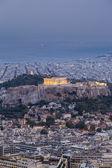 Parthenon and Acropolis in Athens,Greece — Stock Photo