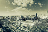 Artistic image of the Ancient Agora of Athens — Stock Photo