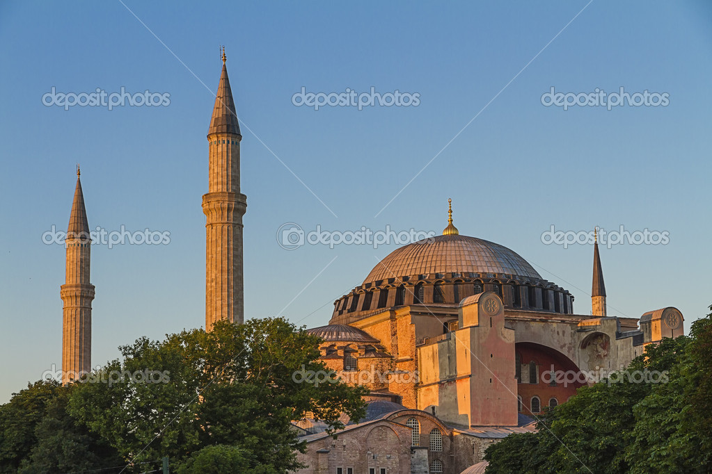 Hagia Sophia , Istanbul ,Turkey  — Stock Photo #13343053