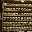 Stock Photo: Skulls of monks in Meteormonastery