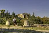 Temple of Hephaestus,Athens,G reece — Stock Photo