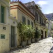 Stock Photo: Traditional houses in Plaka,Athens