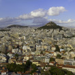 Panoramic view of athens ,greece — Stock Photo