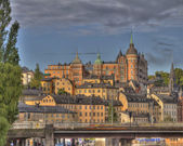 Sunset in Stockholm,Sweden — Stock Photo