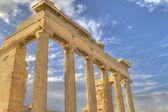 Ancient Temple of Olympian Zeus , Athens, Greece — Stock Photo