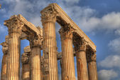 Ancient Temple of Olympian Zeus , Athens, Greece — Stock Photo