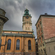Storkyrkan cathedral,the Great Church, Stockholm,Sweden — Stock Photo #13399994