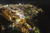 Fira town, santorini eiland, griekenland — Stockfoto