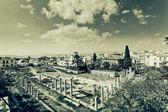 Immagine artistica dell'antica agorà di atene — Foto Stock