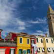 Venice, Italy, Burano island - Stock Photo