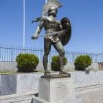 Постер, плакат: Leonidas statue Sparta Greece