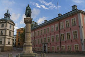 Statue of Birger Jarl,or Birger Magnusson,stockholm ,sweden — Stock Photo