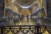 Hagia Sophia interior, Istanbul ,Turkey — Stock Photo
