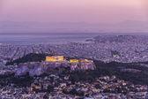 Acropolis by night,Athens,Greece — Stock Photo