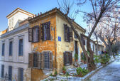 Traditional houses in Plaka,Athens — Stock Photo