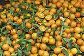 Mandarin orange Citrus reticulata — Stock Photo
