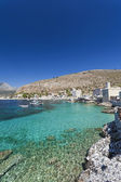 Limeni village in Mani, Greece — Stock Photo