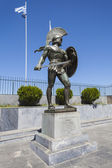 Leonidas statue, Sparta, Greece — Stock Photo