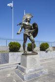 Leonidas statue, Sparta, Greece — Stock Photo