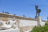 Leonidas statue, Thermopylae, Greece — Stock Photo