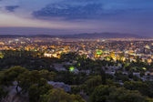 Athens by night,Greece — Stock Photo