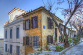 Traditional houses in Plaka,Athens — Foto Stock