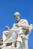 Statue of Plato,the Academy of Athens,Greece — Stock Photo