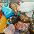 Semi-precious gemstones — Stock Photo