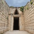 Treasury of Atreus n Mycenae,Greece — Stok fotoğraf