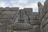The Lion gate in Mycenae,Greece — Stock Photo