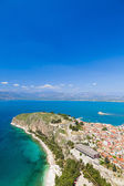 Nafplio , a seaport town in the Peloponnese in Greece — Stock Photo