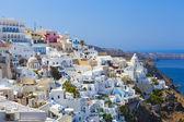 город ия, санторини, греция — Стоковое фото