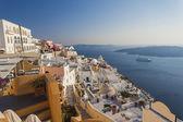 フィラ、サントリーニ島、ギリシャ — ストック写真