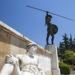 Leonidas statue, Thermopylae, Greece — Stock Photo #13478526
