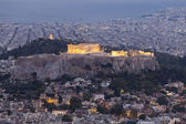 Parthenon and Acropolis ,Athens,Greece — Stock Photo
