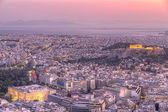Acropolis in Athens,Greece — Stock Photo