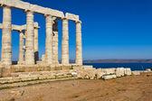 Poseidon Temple at Cape Sounion near Athens, Greece — Stock Photo
