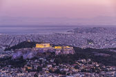 Acropolis in Athens,Greece — Stock Photo