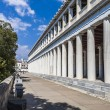 Stoa of Attalos in Athens, Greece — Stok fotoğraf