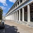 Stoa of Attalos in Athens, Greece - Stock Photo
