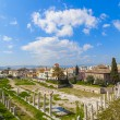 Ancient Agora of Athens - Stock Photo