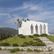 Distomo Memorial in Greece — Stock Photo
