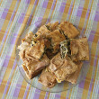 Traditional greek spinach pie ,spanakopita — Stock Photo #13546056